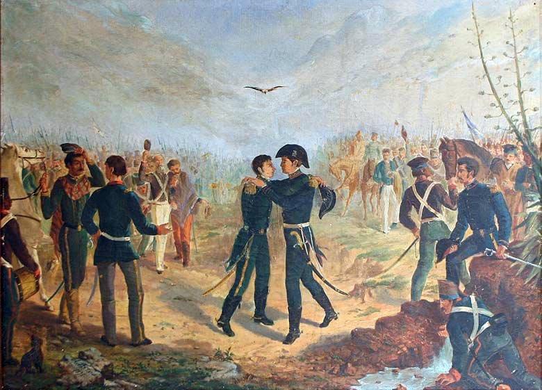 Manuel Belgrano y José de San Martín